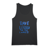 Dave Leroux And The Lakes Organic Jersey Womens Tank Top