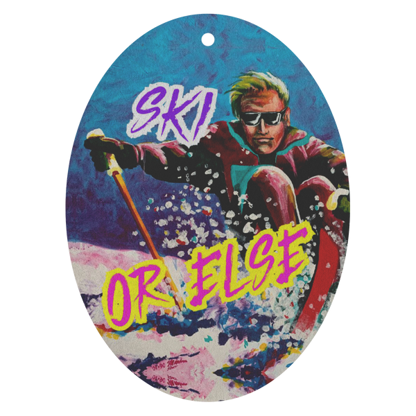 Ski Or Else Air Freshener 3 Pack