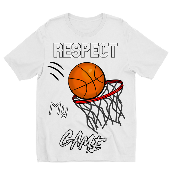 Respect My Game Sublimation Kids T-Shirt