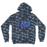 ELECTRIC NEON LAGO Camouflage Adult Hoodie