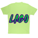 ELECTRIC NEON LAGO Sublimation Performance Adult T-Shirt