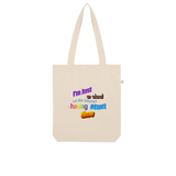 I'm Just a Dad On The Internet Having A Great Time Organic Tote Bag