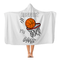 Respect My Game Classic Adult Hooded Blanket