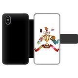Lago Boys Coat of Arms Front Printed Wallet Cases