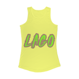 ELECTRIC NEON LAGO Women Performance Tank Top