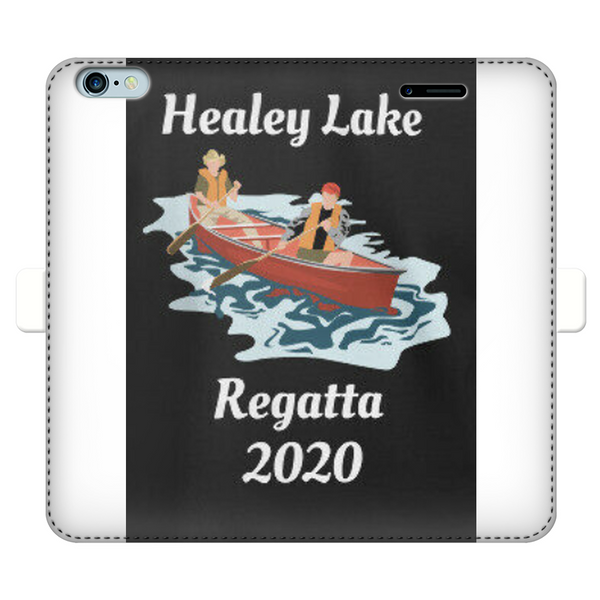 Healey Lake Regatta 2020 Fully Printed Wallet Cases