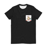 Lago Boys Coat of Arms Classic Sublimation Pocket T-Shirt