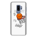 Respect My Game Fully Printed Glossy Phone Case
