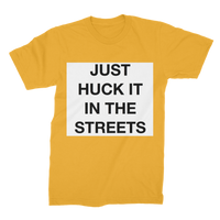 huck it Premium Jersey Men's T-Shirt