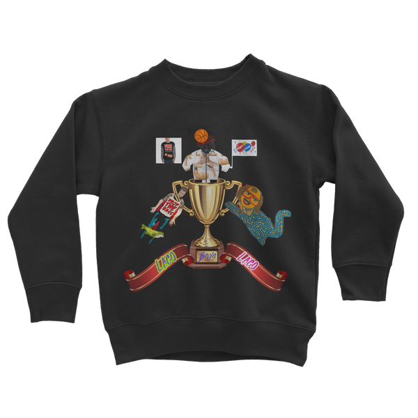 Lago Boys Coat of Arms Classic Kids Sweatshirt