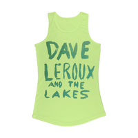 Dave Leroux And The Lakes Women Performance Tank Top