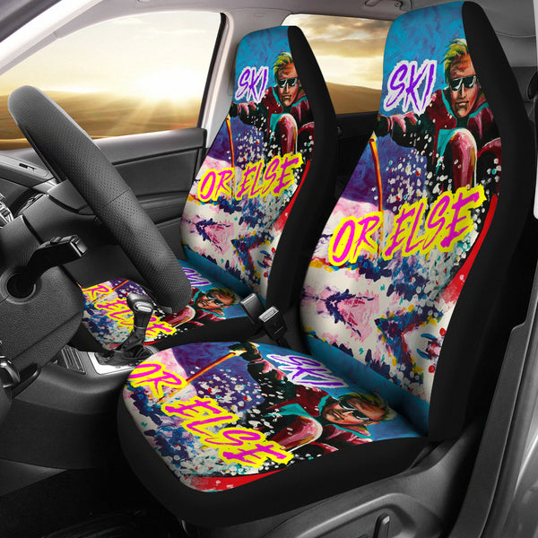 SKI OR ELSE Car Seat Covers