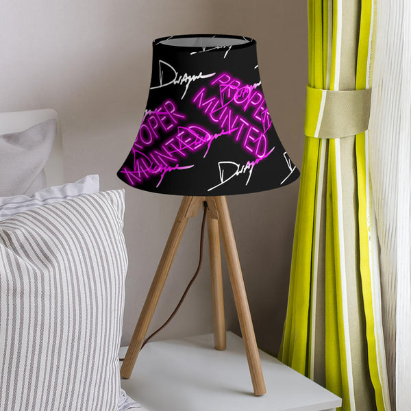 Proper Munted Neon Sign Dwayne Signature Series Lamp Shade