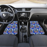 Night Burglar Raccoon Car Floor Mats