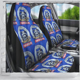 Night Burglar Seat Covers Shower Curtain