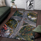 Freeway Interchange Area Rug