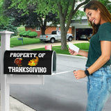 Property of Thanksgiving Magnetic Mailbox Cover