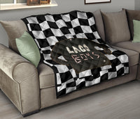 Lago Boys Racing Premium Quilt