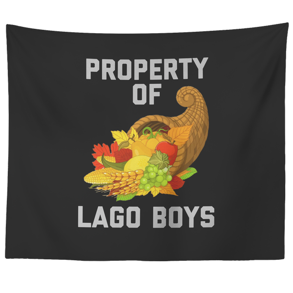 Property of Lago Boys WALL TAPESTRY