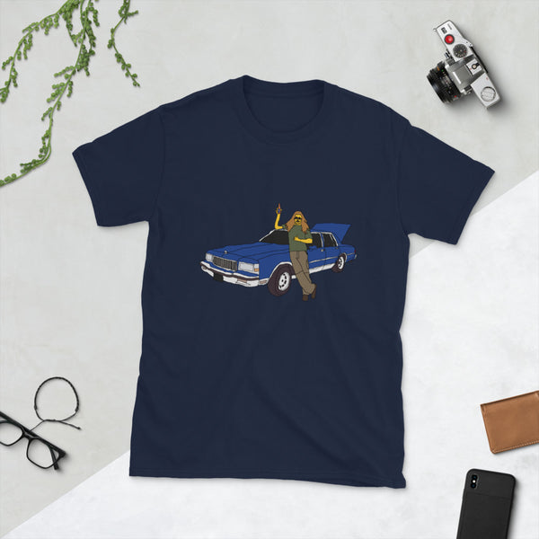 A Man And His Blue Caprice Short-Sleeve Unisex T-Shirt