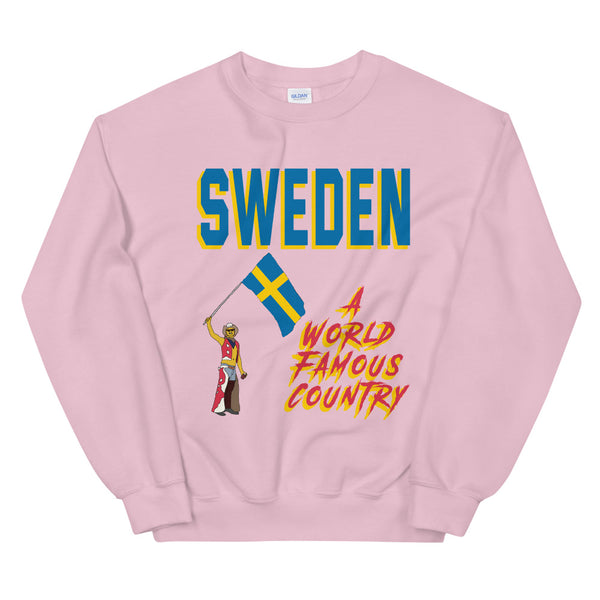 Sweden A World Famous Country Unisex Sweatshirt