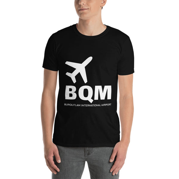 Burquitlam International Airport Short-Sleeve Unisex T-Shirt