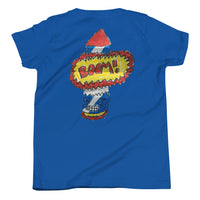 L'il Firecracker two-sided Folding Art Youth Short Sleeve T-Shirt