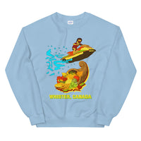 Uncle Raptor Saves Thanksgiving In Whistler Canada! Unisex Sweatshirt