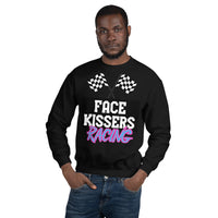 Face Kissers Racing Unisex Sweatshirt