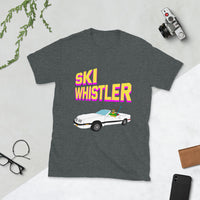Ski Whistler LeBaron Convertible Short-Sleeve Unisex T-Shirt