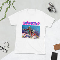 Ski Whistler Short-Sleeve Unisex T-Shirt