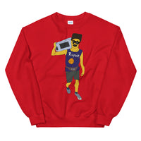 Rappie Laundry Basketball Unisex Sweatshirt