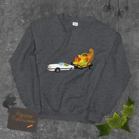 Figgy The Convertible King Saves Thanksgiving Unisex Sweatshirt