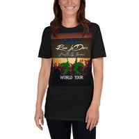 The Legendary Rave LeDoux and the Log Jammers WORLD TOUR Short-Sleeve Unisex T-Shirt