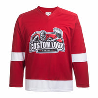 Roll The Dice And Try Your Luck At Getting A Custom Logo Successfully Printed on a Hockey Jersey