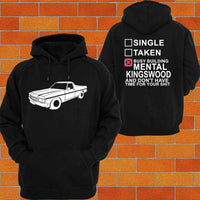 Screw Dating I'm Too Busy Buying Hoodies That Brag About My Mental Ute Build
