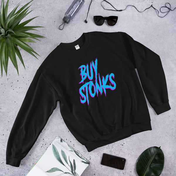 Buy Stonks, GME Shirt, WallStreetBets Shirt, Buy GME, Stonks, Gamestop Shirt, WSB shirt, GameStonk, Unisex Sweatshirt
