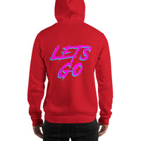 Lets Go, Let's Go, College Gift, Student Gift, College hoodie, College shirt, Party Shirt, Birthday gift, Unisex Hoodie