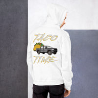 Toyota Tacoma Taco Time Truck 4wd Overlanding Overland TRD Sport Short-Sleeve, Toyota Gift, Truck Gift, Unisex Hoodie
