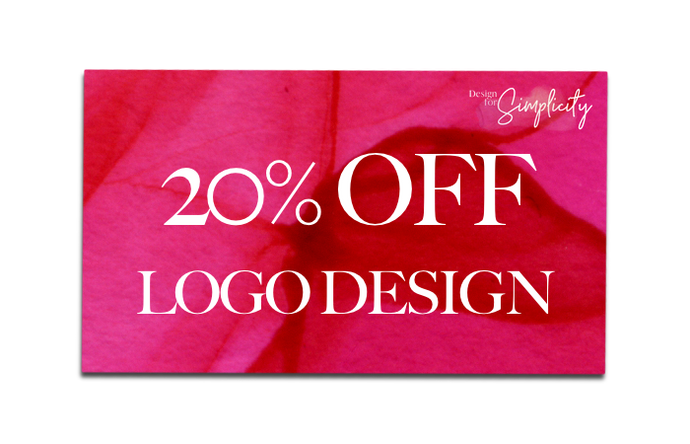 20% OFF Logo Design