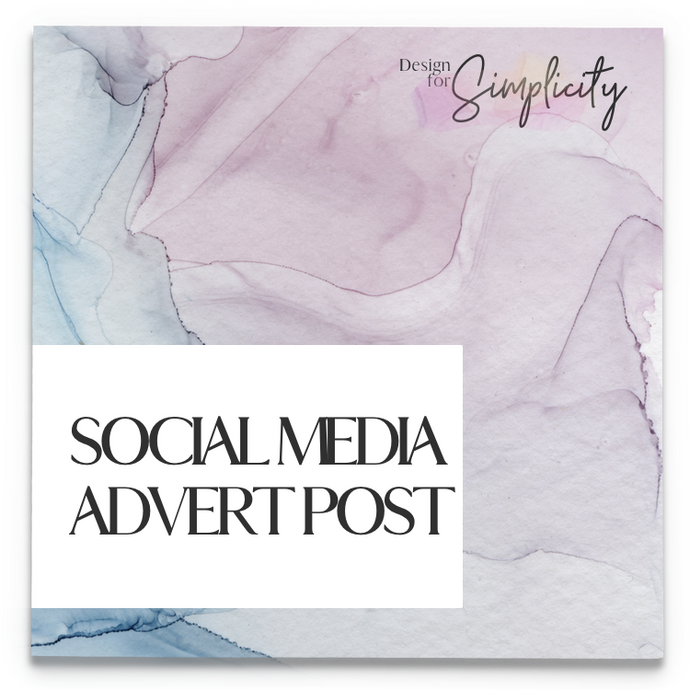 Social Media Advert Post