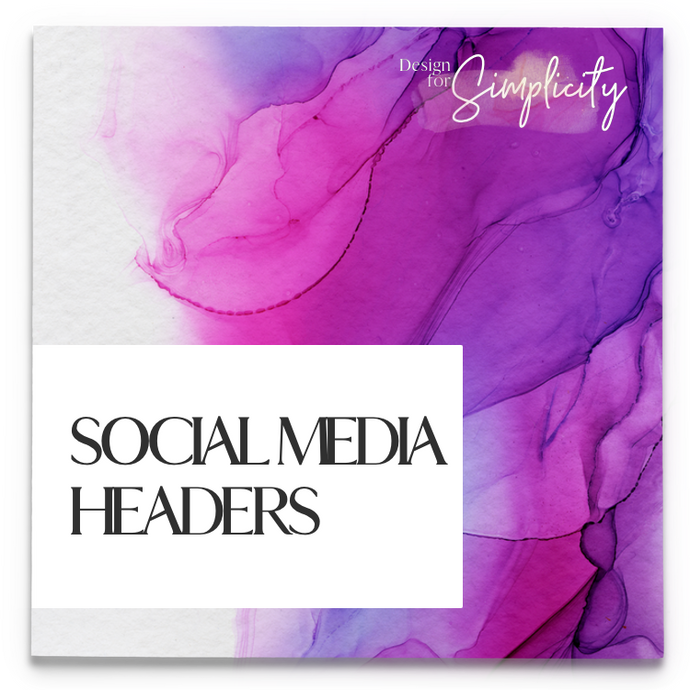 COMING SOON: Social Media Headers