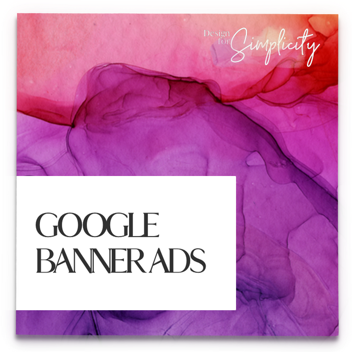 COMING SOON: Google Banner Ads x8
