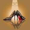 'Aura Pointed-Toe' Party Heel by Oorvi Desai