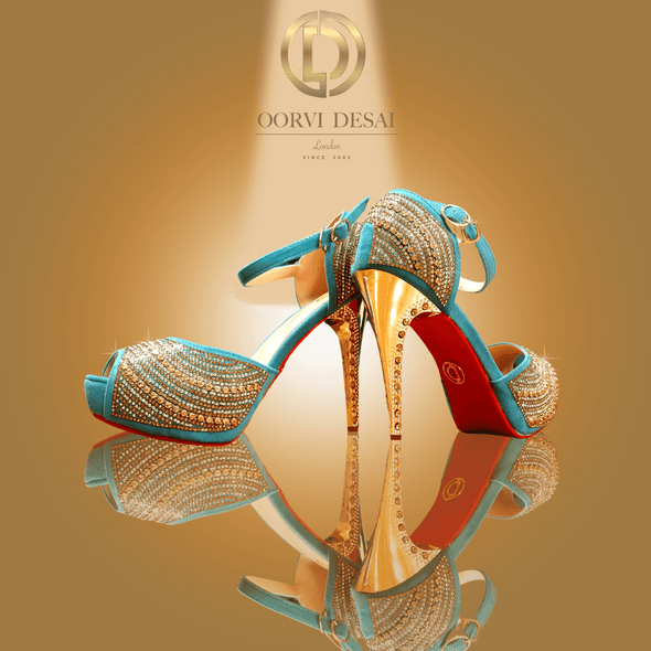 'Esther' Bridal Heel by Oorvi Desai