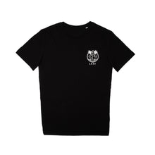Load image into Gallery viewer, LGSC black logo tshirt