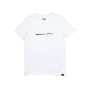 "LGSC ""Make Surfing shit again"" T shirt White"