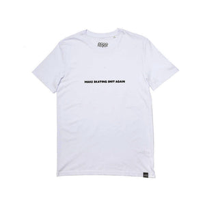 "LGSC ""Make Skating shit again"" T shirt White"