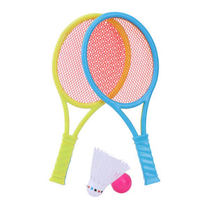 Badminton Tennis Rackets Balls Set