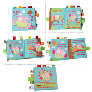 Educational  Infant  Early Development Cloth Books Learning  Unfolding